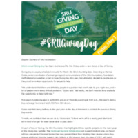 SRU Giving Day_ rebranded as a Day of Caring_ rescheduled for May 1 - The Rocket.pdf