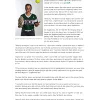 Lone softball senior reflects on shortened season - The Rocket.pdf